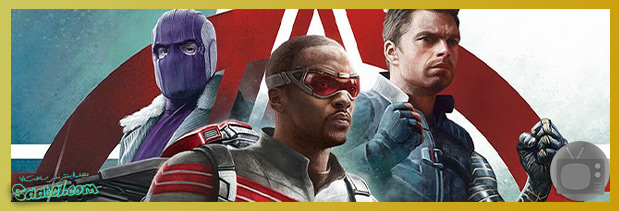 بهترین سریال های سال 2021 / مینیسریال The Falcon And The Winter Soldier