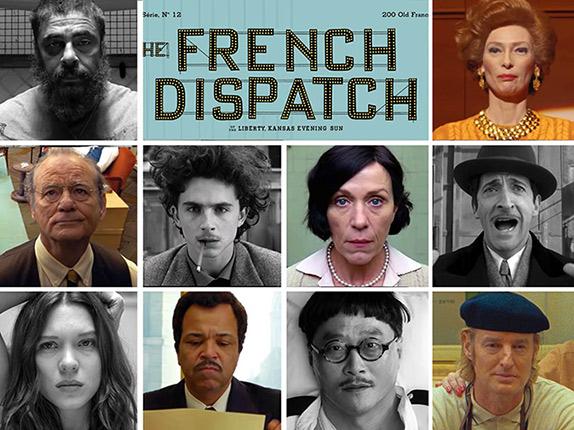 مورد انتظارترین فیلم های 2021 / The French Dispatch
