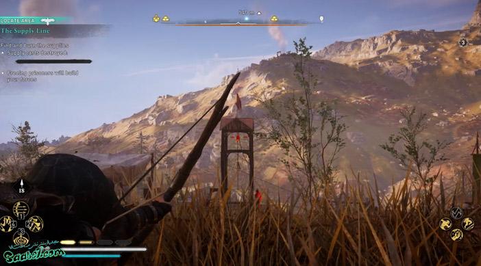 راهنمای بازی Assassins Creed Valhalla : ماموریت The Supply Line