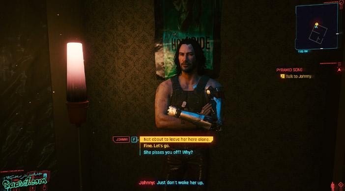 راهنمای بازی Cyberpunk 2077 / ماموریت فرعی Pyramid Song