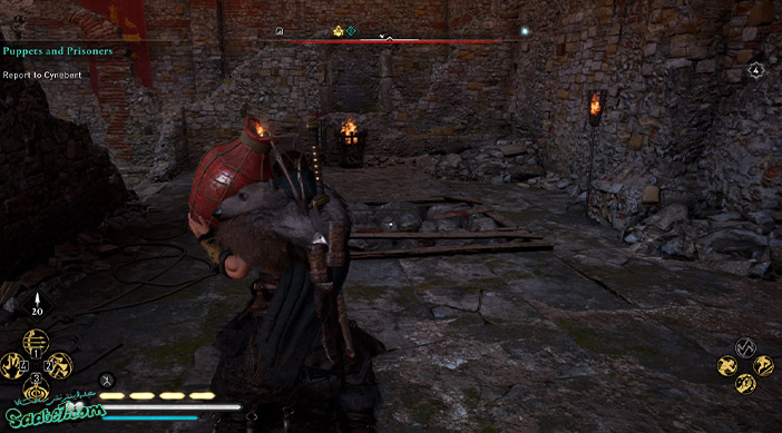 راهنمای بازی Assassins Creed Valhalla : ماموریت The Abbot's Gambit