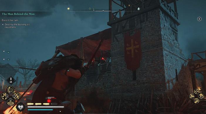 راهنمای بازی Assassins Creed Valhalla : ماموریت The Man Behind the Man
