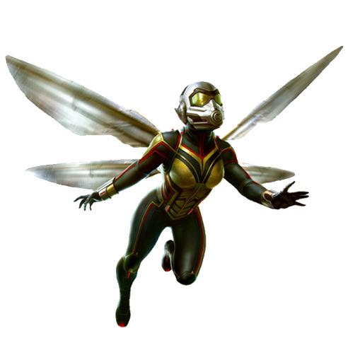 آشنایی با شخصیت The Wasp /