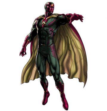 معرفی شخصیت Vision (ویژن) / آشنایی با شخصیت های دنیای Marvel