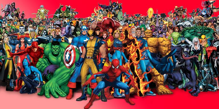 معرفی تمام شخصیت های مهم Marvel/ آشنایی با قهرمانان دنیای مارول