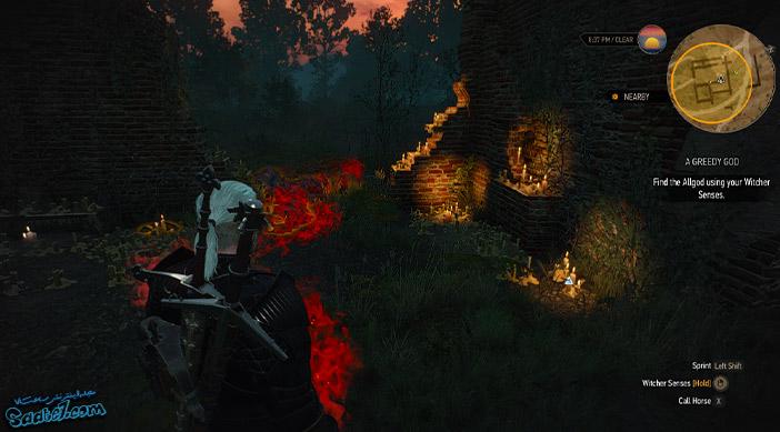 راهنمای بازی The Witcher 3 / ماموریت A Greedy God