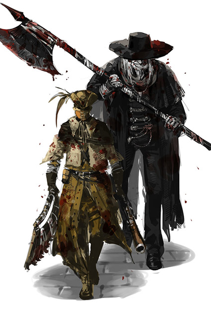 FatherGascoigne And Henryk