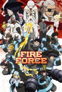 انیمه سریالی Fire Force