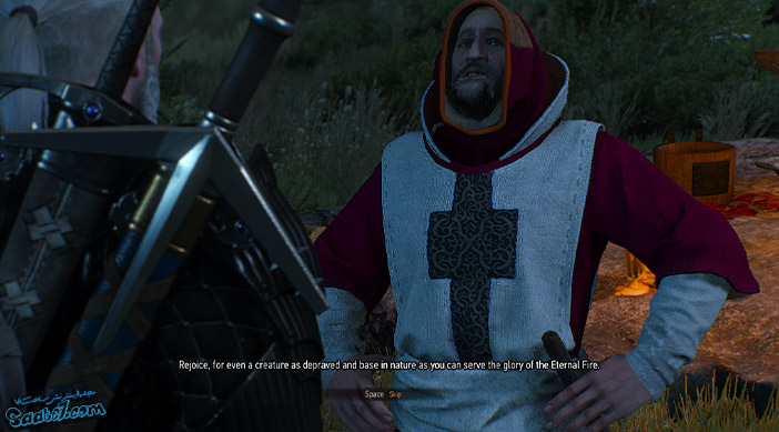 راهنمای بازی The Witcher 3 / ماموریت فرعی Funeral Pyres