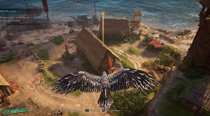 راهنمای بازی Assassins Creed Valhalla : ماموریت Old Wounds