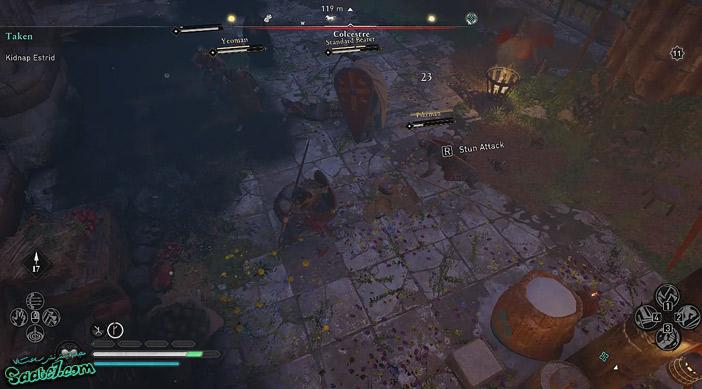 راهنمای بازی Assassins Creed Valhalla : ماموریت Taken