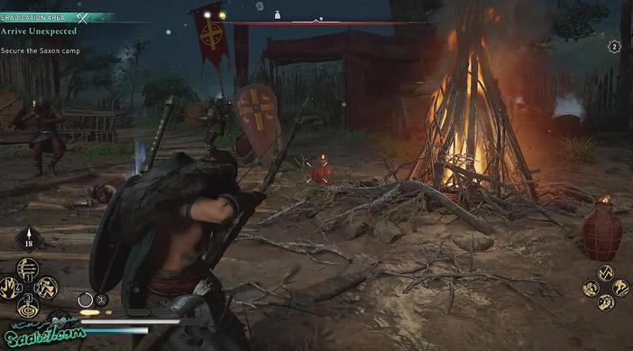 راهنمای بازی Assassins Creed Valhalla : ماموریت Arrive Unexpected