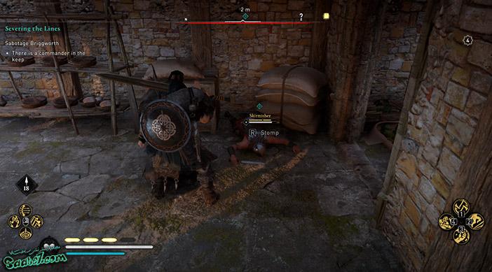 راهنمای بازی Assassins Creed Valhalla : ماموریت Severing the Lines