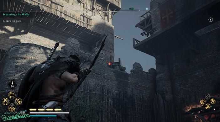راهنمای بازی Assassins Creed Valhalla : ماموریت Storming the Walls