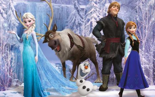 گالری والپیپرهای انیمیشن Frozen